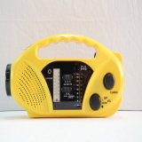 FM/Am/Sw Yellow Protable Mobile Charge Radio (HT-898)