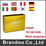 HD 1080P Tvi SD DVR with 1080P/720p/D1 Resolution Optional