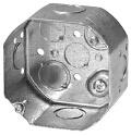 """4"""" Steel Octagonal Box, 2-1/8 in. Deep, cETL Listing"""