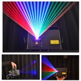 3W RGB Ld 520 DJ Laser with LCD Display SD Card