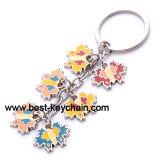 Fancy Hot Sale Metal Butterfly Warehouse Keychain (BK52802)