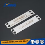 Stainless Steel Cable Clip Marker Plate