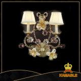 Hotel Luxurious Fancy Brass Wall Lamp (MB0909-2)