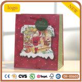 Christmas Man Pattern Gift Paper Bag