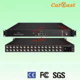 High Performance and Low Cost 8 in 1 IP to DVB--T Qam Modulator