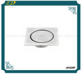 Elegant Silver Invisible Round Cover Stainless Steel Floor Drain