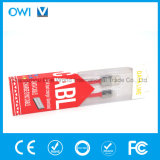 Slim Flat Charger&Transfer Data Cable Red Package