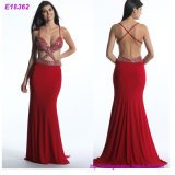100% Polyester or Spandex Fabric Type and Evening/Formal Dresses Dress