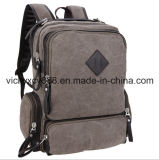 Notebook Laptop Student Leisure iPad Canvas Backpack Pack Bag (CY1826)