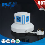 Multi Vertical Power Socket with USB/Multi Layer/Table Sokcet