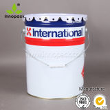 20 Liter Paint Bucket with Metal Handle with Curly Lid with Inner Coating