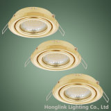 Manufacturer Tilt Recessed Ceiling Downlight Fixture GU10 MR16 Lamp Holder Downlight