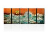 Modern Metal Artworks for Decoration - Rising Sun (CHB6015044)