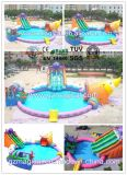 Kids Adult Playground Giant Aqua Park Equipment Inflatable Water Park (MIC-528)