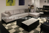 Italian Modern Sofa Furniture Home Wooden Fabric Sofa (D-68)