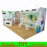 Portable Modular Reusable Tradeshow Display Exhibition for Clothes