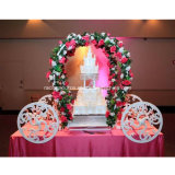 New Arrival Cinderella Carriage Metal Cake Stand Wedding Decoration