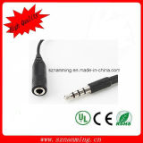 4pole 3.5mm Male to Female Audio Extension Cable