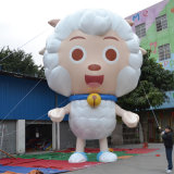 Event Display Inflatable Advertising Products 10m Height Pleasant Sheep