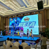 Indoor Rental Advertising Die-Cast Aluminium Display pH3 Full Color LED Sign Media Screen