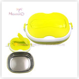 PP Stainless Steel Lunch Box with Spoon Utensils (900ml)
