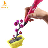 Leungyo 3D Printer Pen Christmas Gifts with CE/FCC/RoHS/En71 Approved