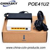 4poe+1uplink Ports CCTV Poe Switch with External Power (POE41U2)