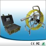 """7"""" Display Video Sewer Pipe Inspection Camera with 40mm Self-Levellling Camera"""