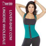 Lady Latex Waist Trainer Vest Body Shaper Underwear (L42659-4)