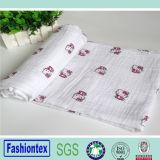 Eco-Friendly Cotton Custom Soft Baby Swaddle Blanket Baby Swaddle Wrap