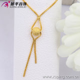 Xuping Fashion 24k Gold Color Scrub Bead Necklace (42523)