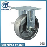 """5"""" Cast Iron Fixed Industrial Caster Wheel"""