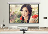 16 9 120 Inch Manual Projector Screen Factory Price for Sale