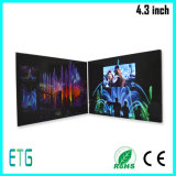 Newest Customized Printing Paper Cover LCD Video Book