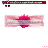 Fashion Garment Accessories Pink Tulle Flower Hair Product (P3039)