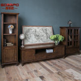 American Style Classic Solid Wood TV Stand Design (GSP15-001)