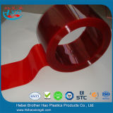 Dark Red Vinyl Plastic PVC Welding Door Strip Curtain