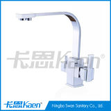 Deck Mounted Brass Water Purified Kitchen Faucet