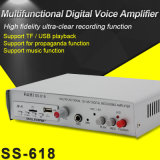 12V-48V Professional Amplifier Power Stereo Amplifier Car Audio Amplifier (618)