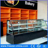 Supermarket Commercial Cold Cake Refrigerator Freezer Cabinet