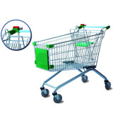 125L Cheap Supermarket Grocery Shopping Cart for Wholesale