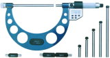 5-Key Digital Electronic Interchangeable Anvil Micrometer
