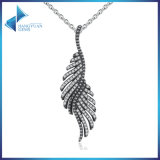 New Arrival 925 Sterling Silver Majestic Feathers Pendants Necklaces