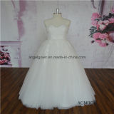 OEM Floor Length Sweetheart Ladies Wedding Dress