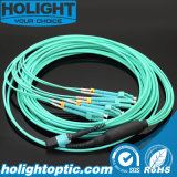 MPO to LC Om3 Trunk Fiber Optic Cable