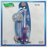 Kids Cartoon Animal Smiling Face Sand Timer Kids Toothbrush