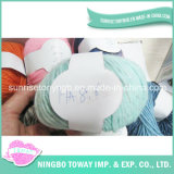Hand Knitting Polyester Gloves Wool Cotton Fancy Yarn -11