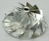 Customized Stainless Steel CNC Milled Water Pump Impeller