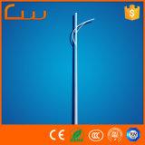 Single Arm Design 6m 7m 8m LED Street Lighting Pole