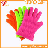 Colorful Abrasion Resistance Non-Slip Silicone Glove (YB-HR-3)